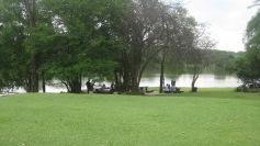 The lake at Nsobe