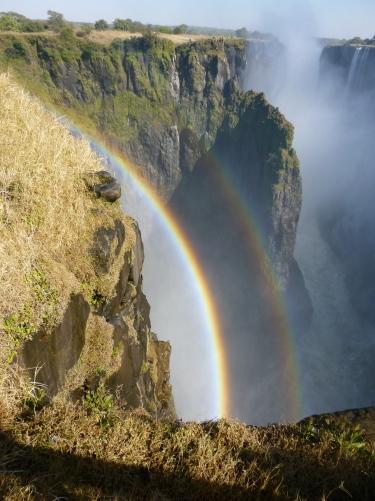 Rainbow at Vic Falls