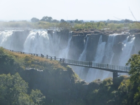 Vic Falls & Knife Edge Bridge